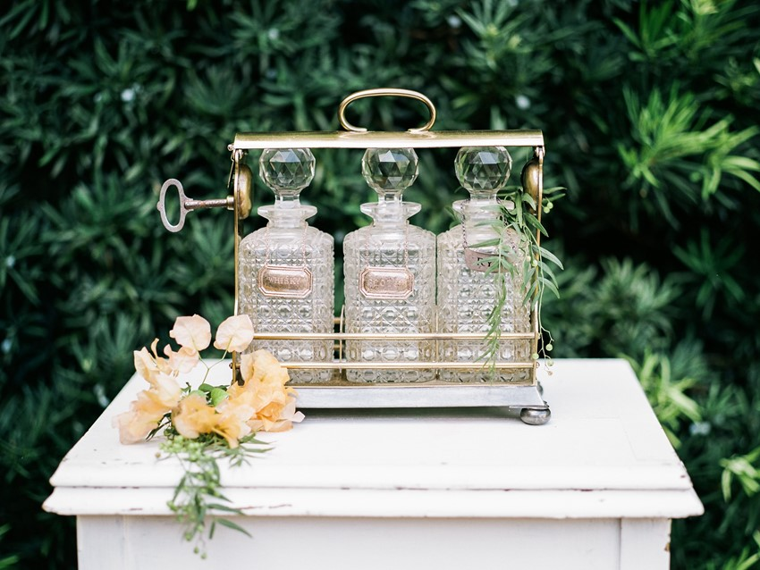 Vintage Southern Wedding Decor
