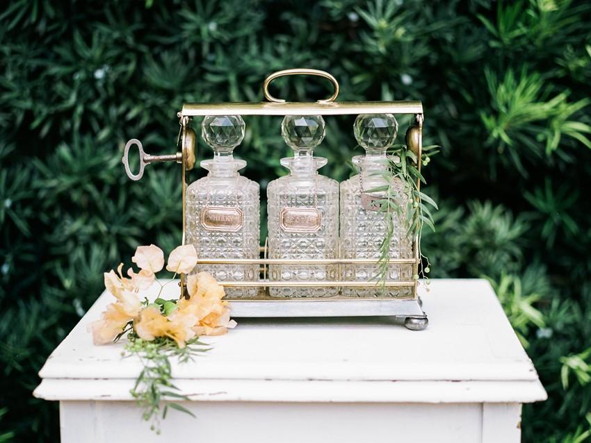 Vintage Southern Wedding Decor