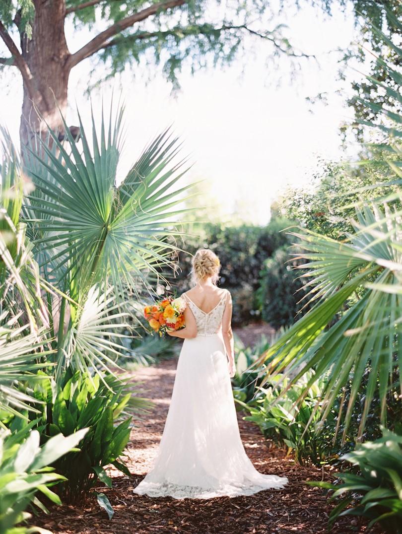 Romantic Spring Garden Bride