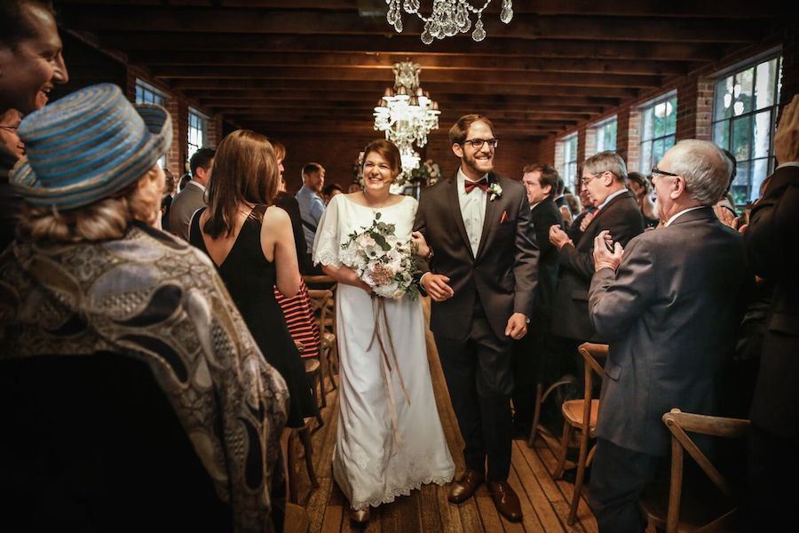 Romantic Carondelet House Wedding Ceremony