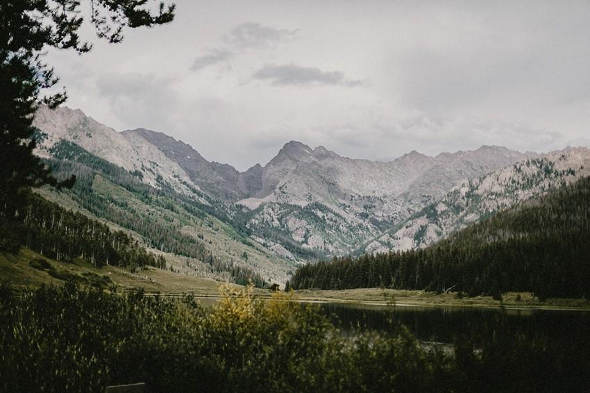 A Boho Vintage Wedding in the Colorado Mountains