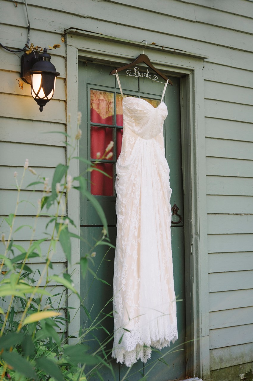 Boho Vintage Wedding Dress