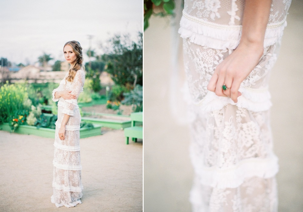 Romantic Spring Vintage Inspired Bride