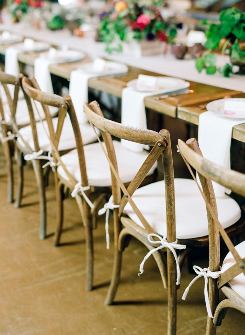 Rustic Vintage Wedding Chairs