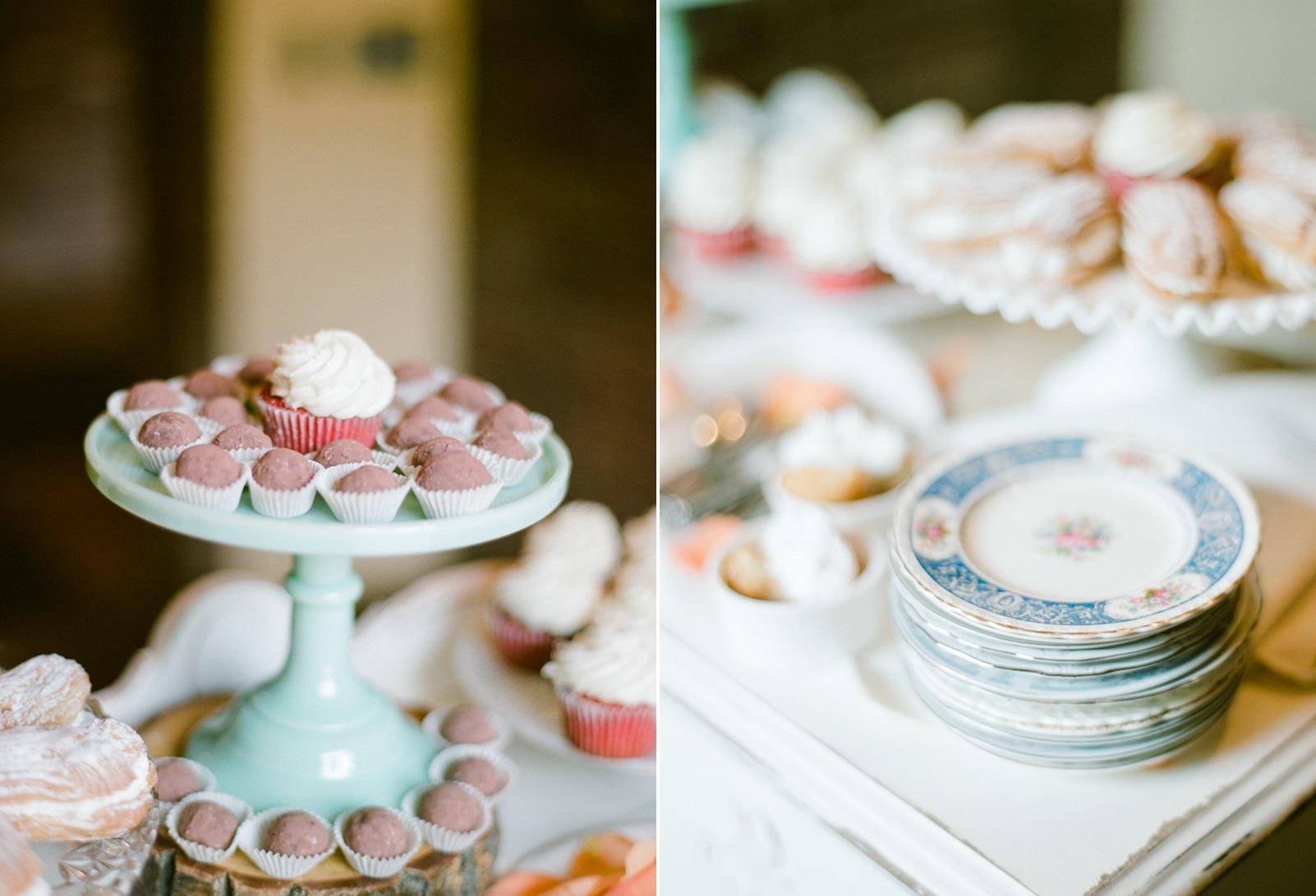 Boho Vintage Wedding Desserts