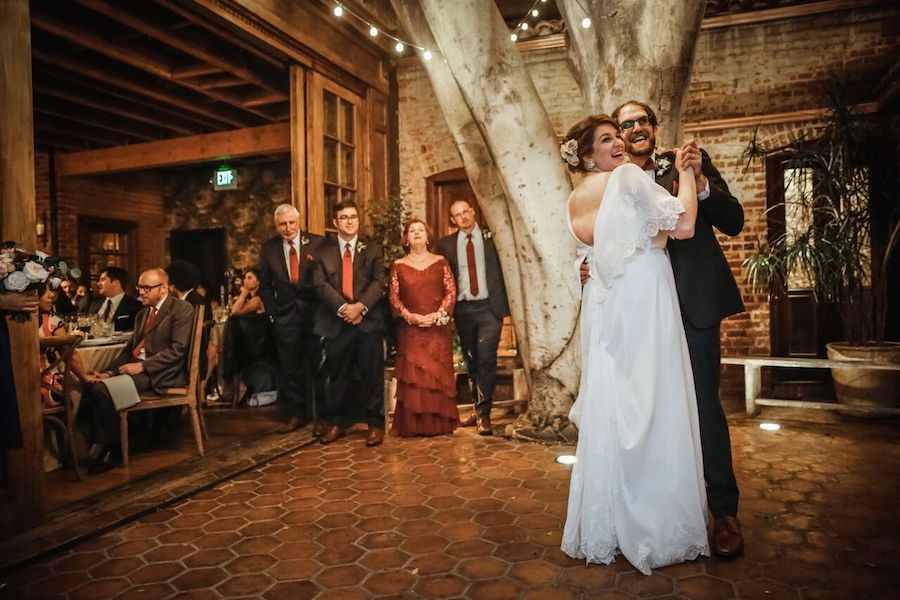 Carondelet House Wedding First Dance