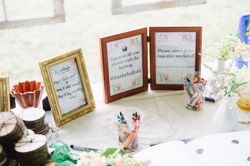 DIY Wedding Signage
