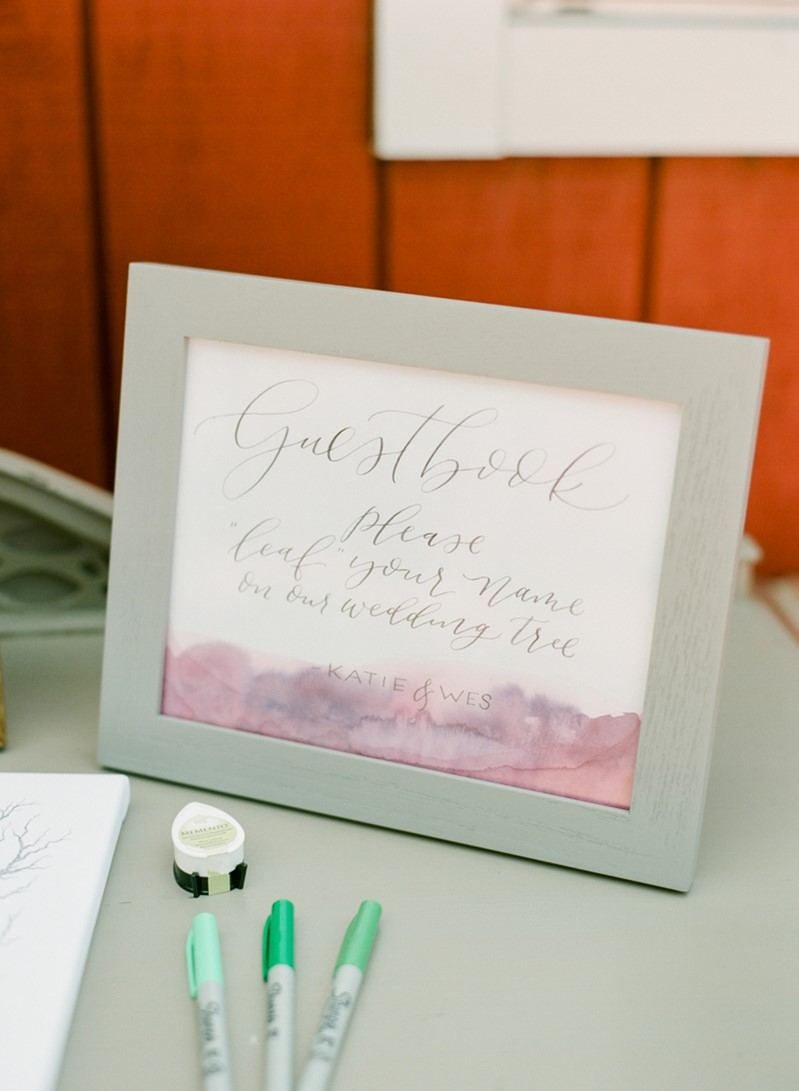 Boho Vintage Wedding Guestbook