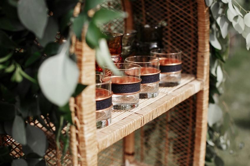 Boho Vintage Vineyard Wedding Decor
