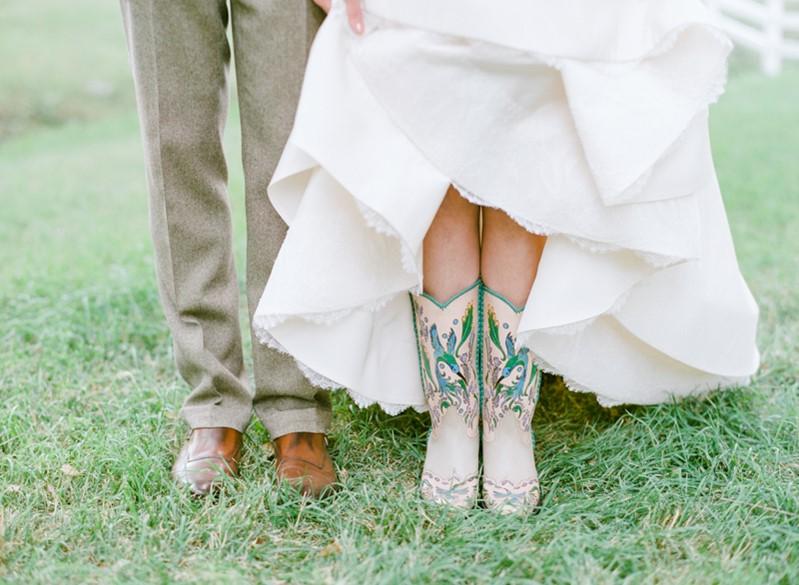 Cowboots Bridal Shoes