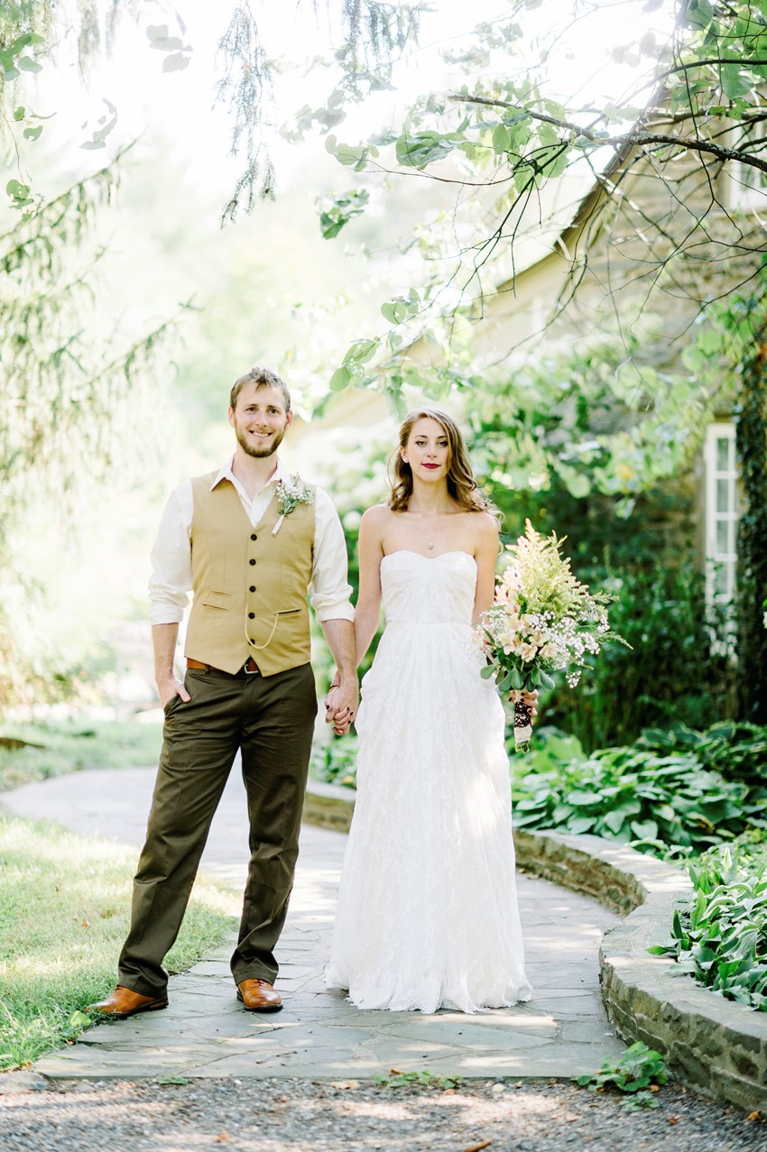 Boho Vintage Bride & Groom