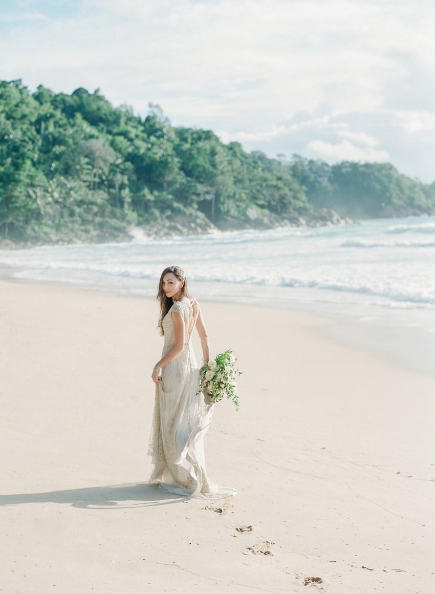 Dreamy Destination Thailand Beach Elopement