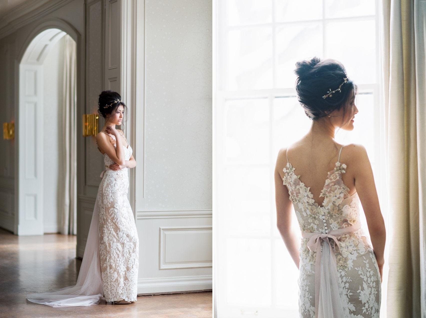 Elegant Wedding Dress from Catherine Langlois
