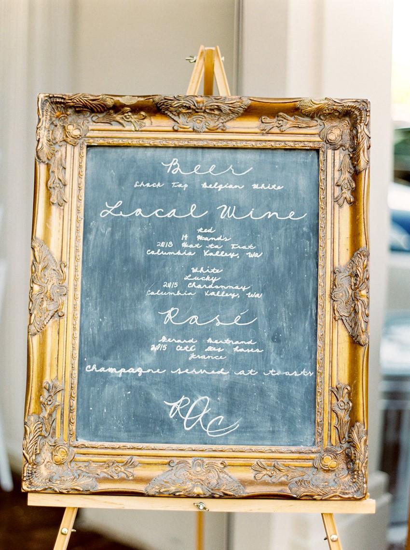 Vintage Wedding Signage