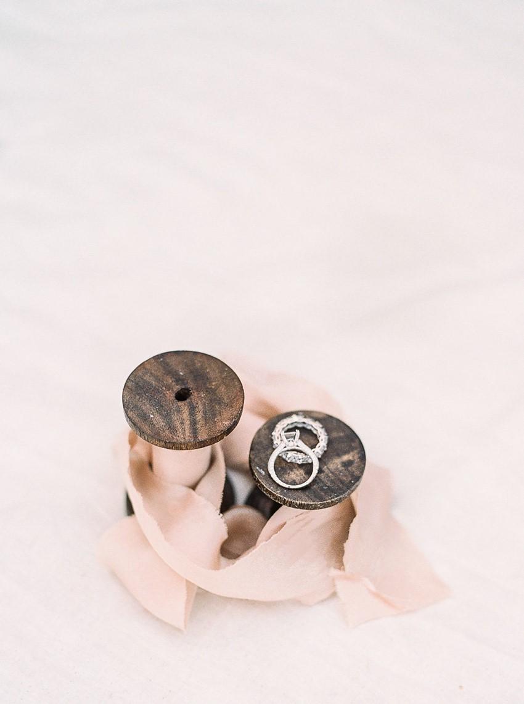 White Gold Engagement & Wedding Ring Set