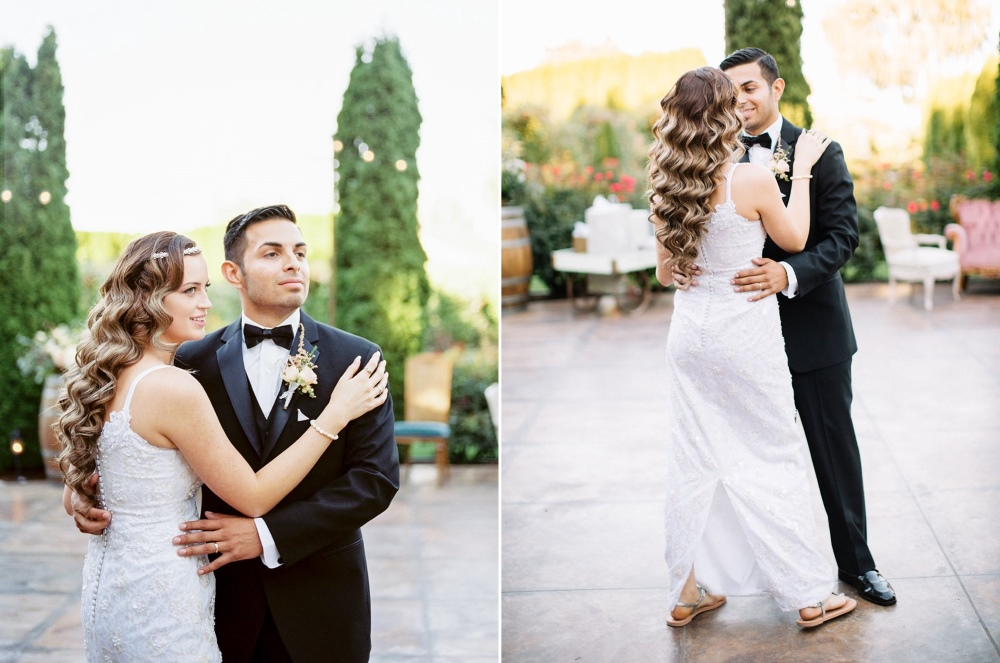 Garden Wedding First Dance