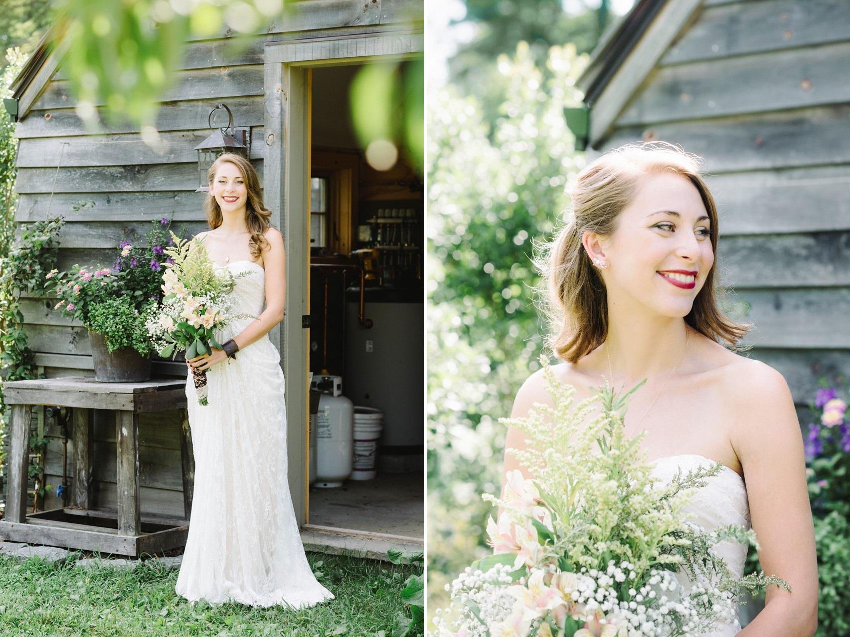 Romantic Boho Vintage Bride