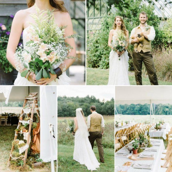 A DIY Woodland Themed Wedding