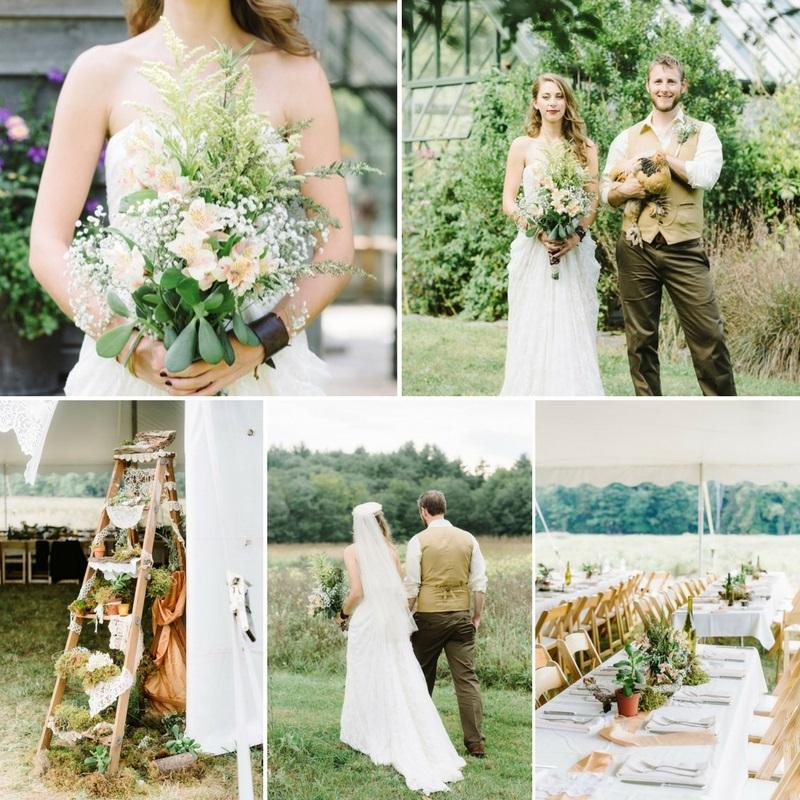 Vintage Wedding Ideas Diy: A DIY Woodland Themed Wedding