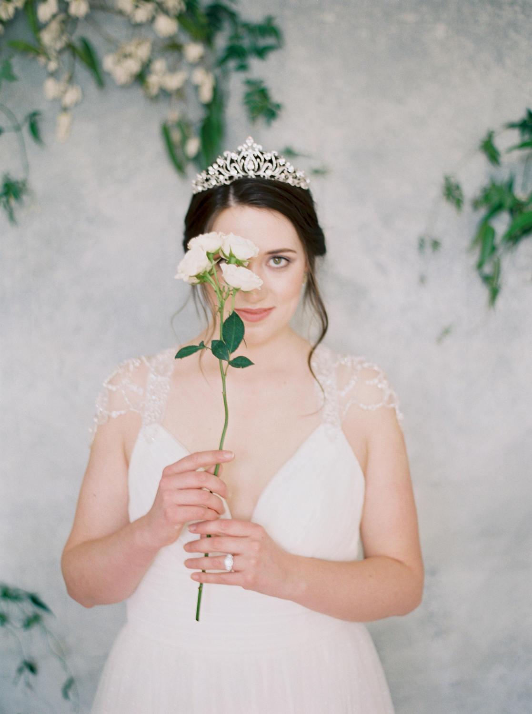 Diamante Bridal Crown