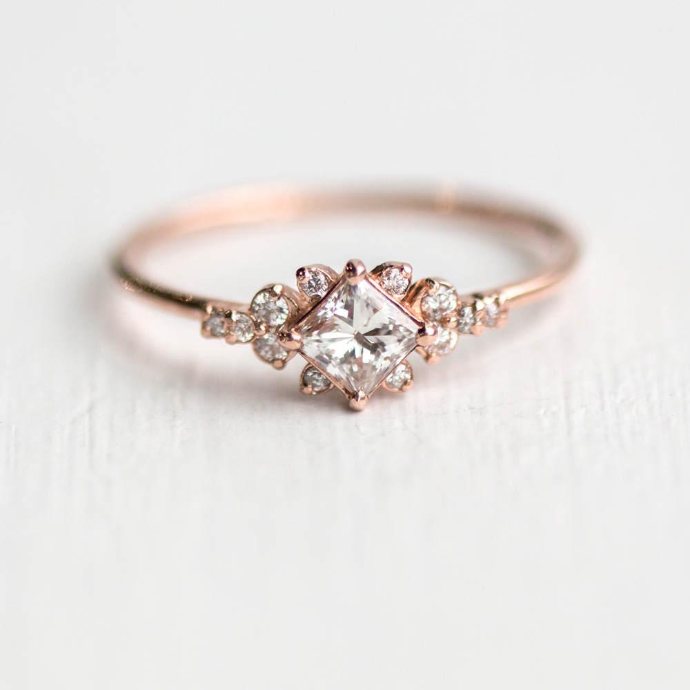Stargaze Diamond Engagement Ring