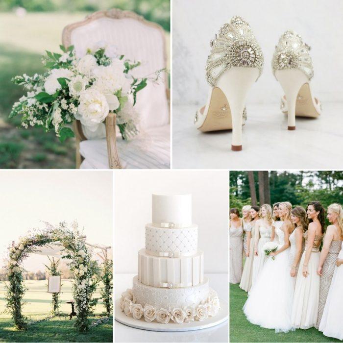 Stunning Diamond White Wedding Ideas