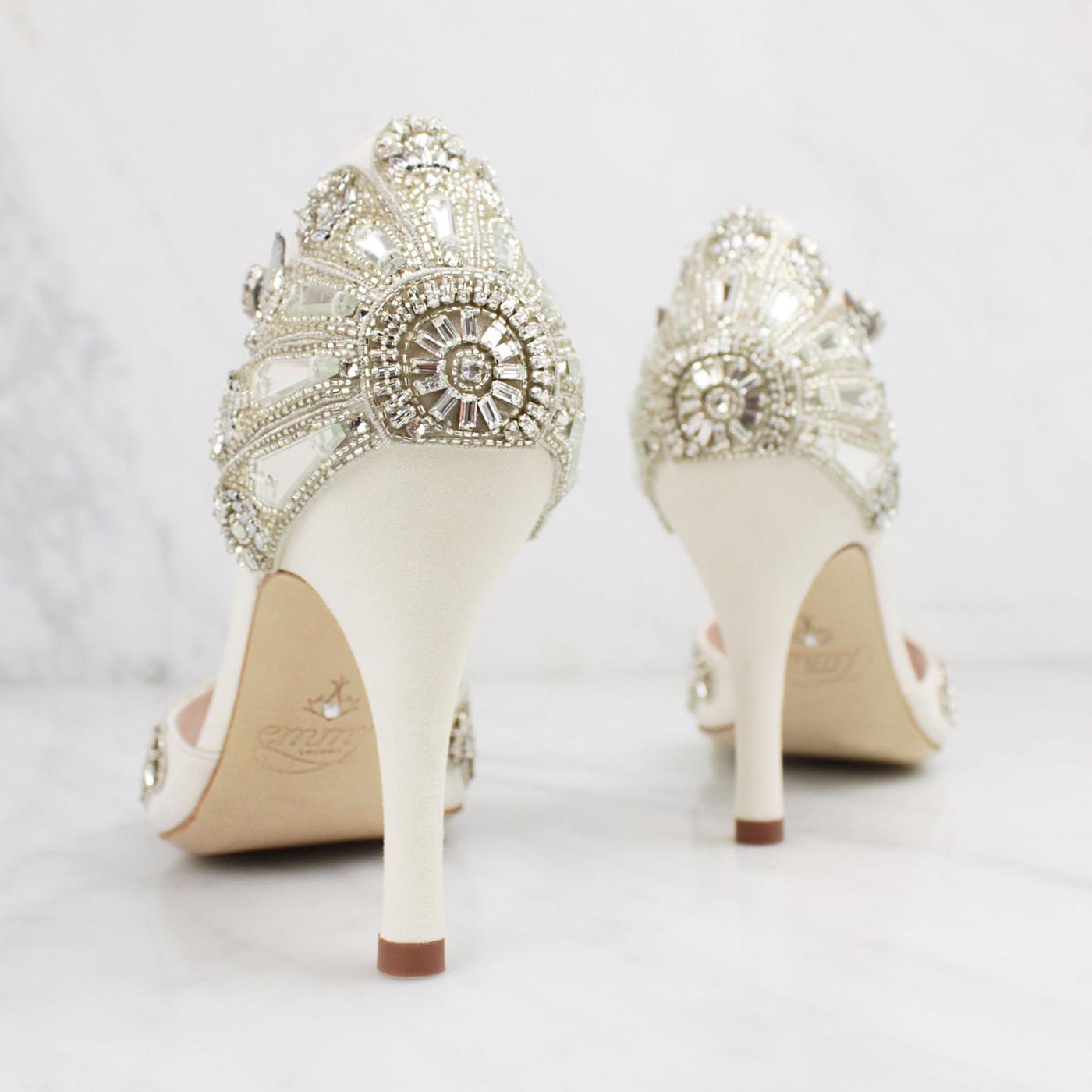 Glamorous Bridal Heels from Emmy London