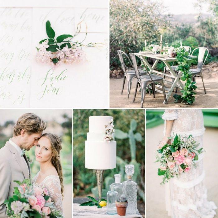 'Love Grows' - Vintage Farm to Table Wedding