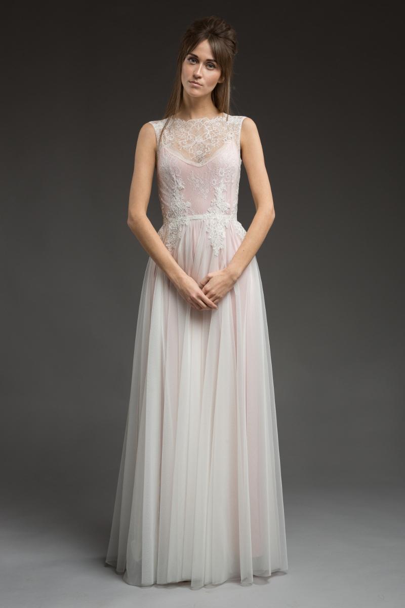 'Aleska' Wedding Dress from 'Morning Mist' Bridal Collection by Katya Katya Shehurina