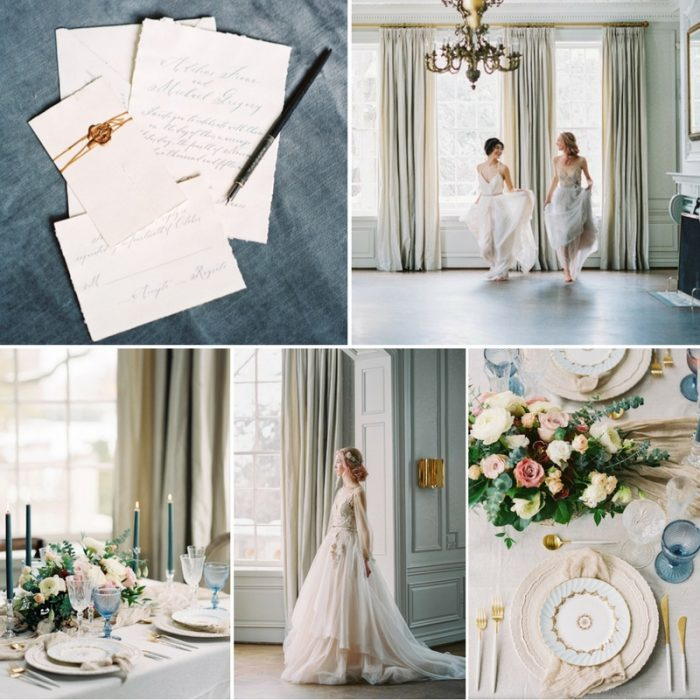 'Morning Sky' - A Dreamy Bridal Inspiration Shoot