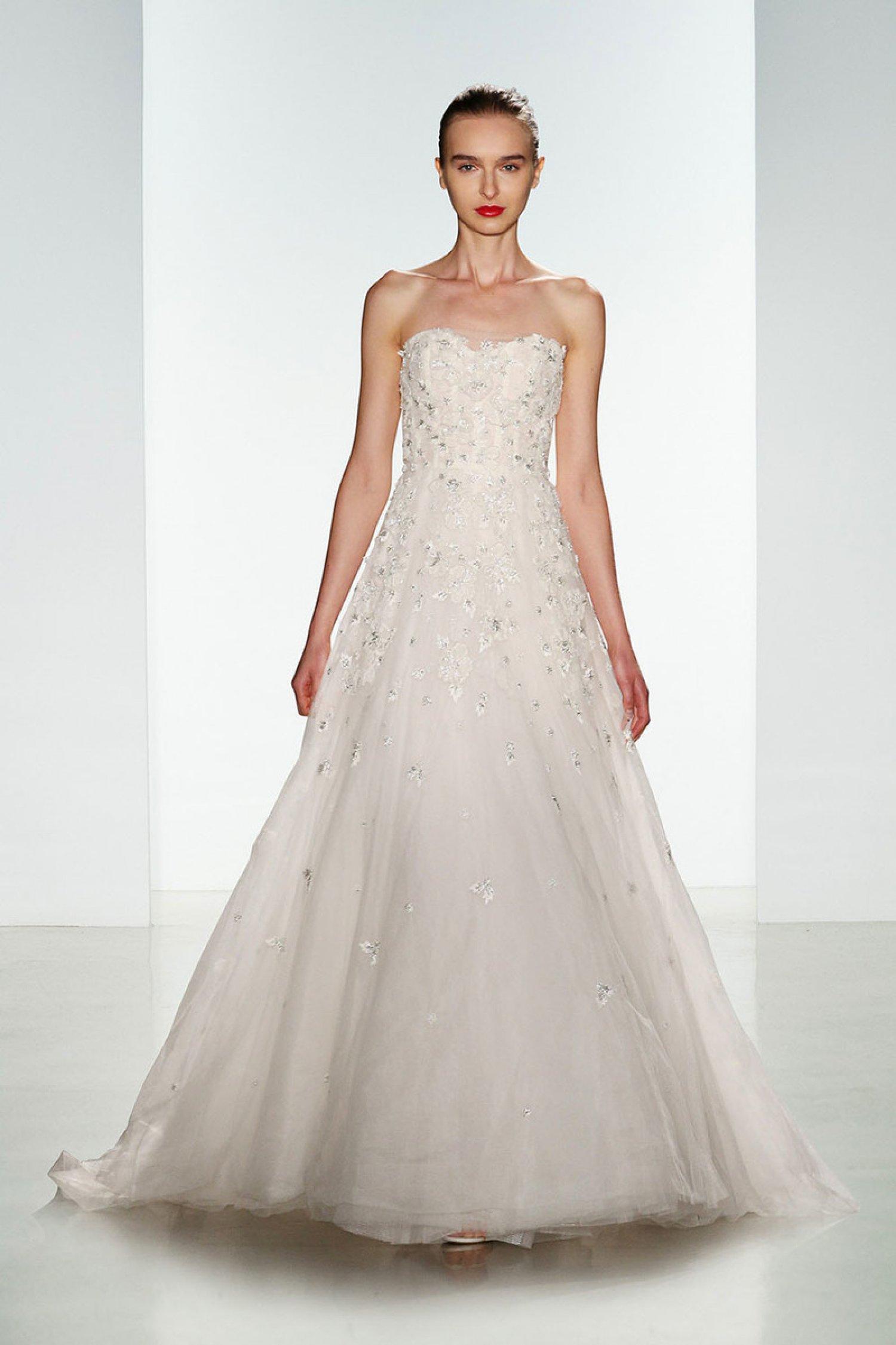 Ashton Fit & Flare Wedding Dress from Amsale