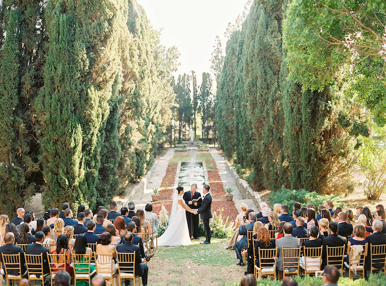 Outdoor Villa Wedding Ceremony