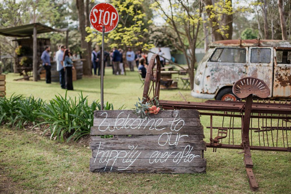 Rustic Vintage Australian Wedding