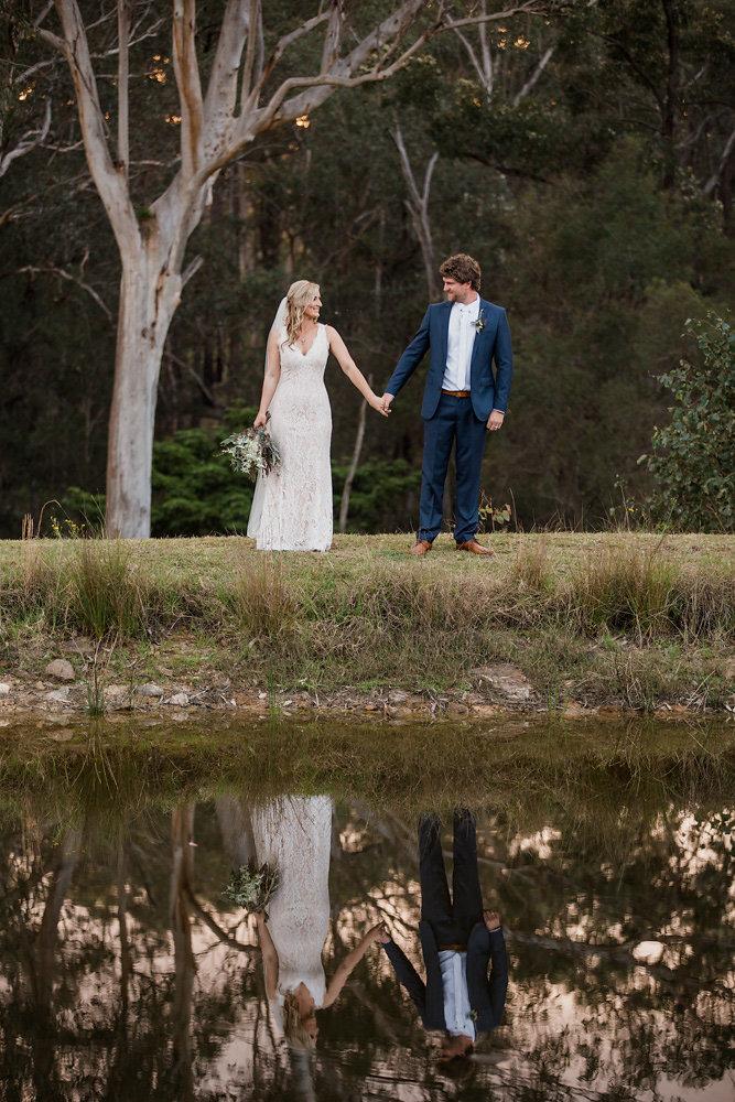 A Romantic, Boho-Vintage Wedding with Rustic Charm