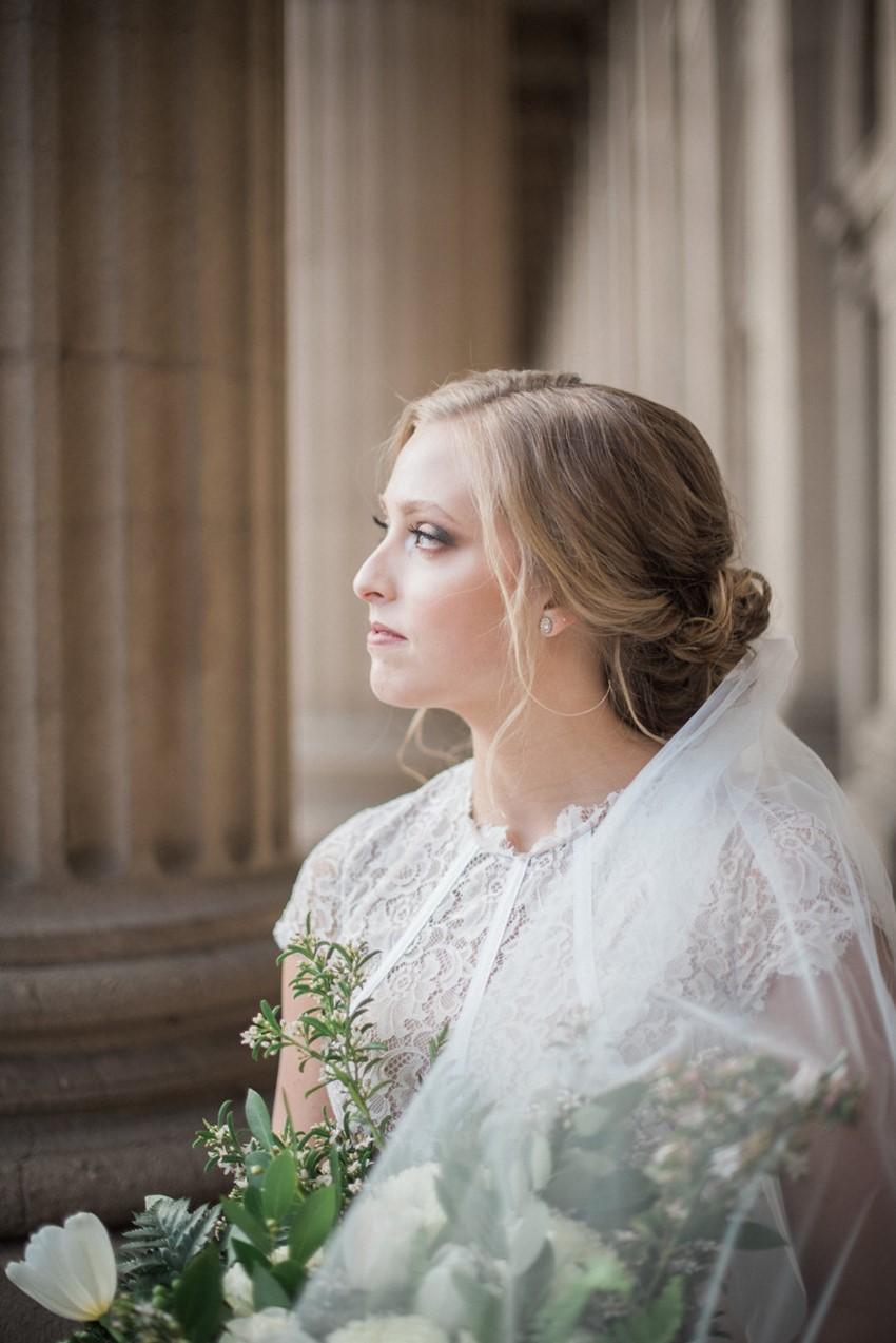 Greenery Vintage Bride