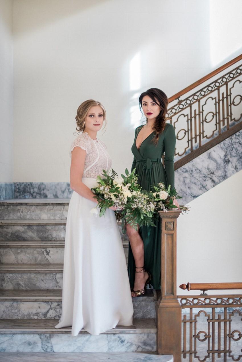 Greenery Vintage Wedding Inspiration