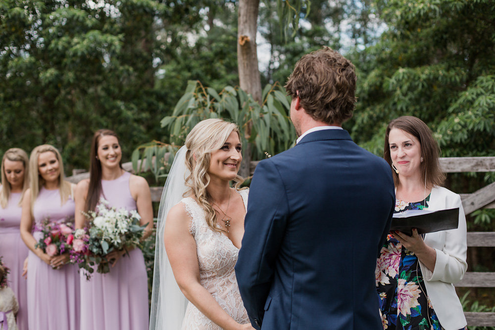 Romantic Outdoor Australian Wedding