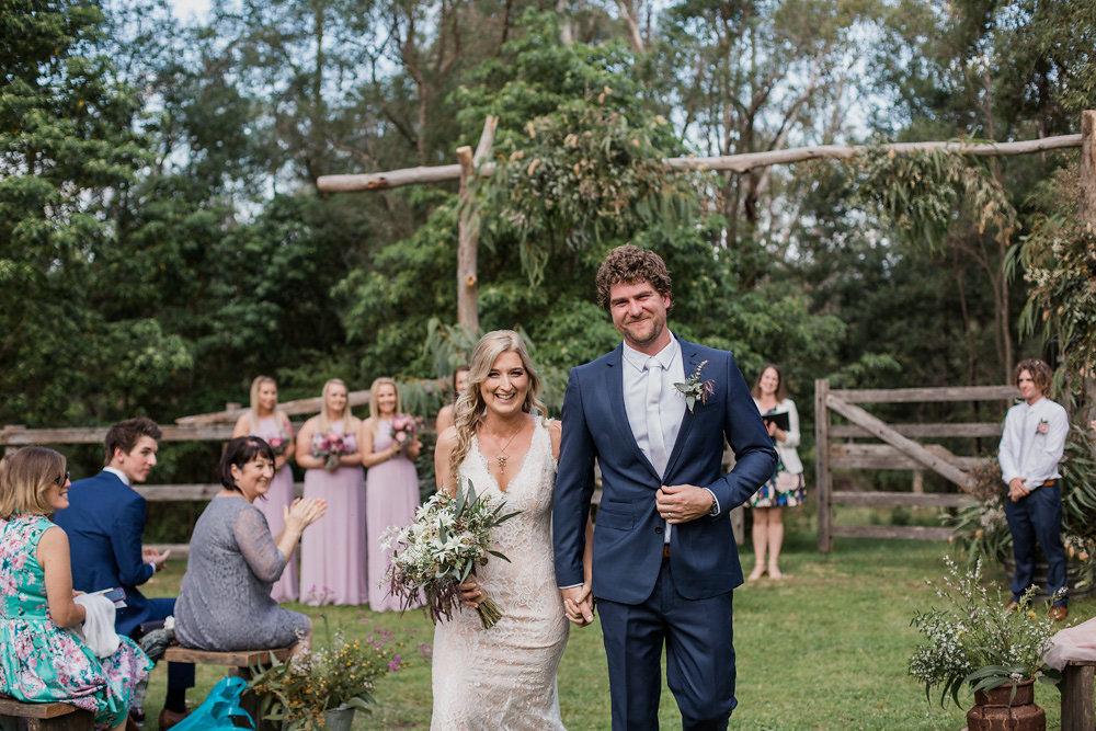 Romantic Outdoor Australian Wedding