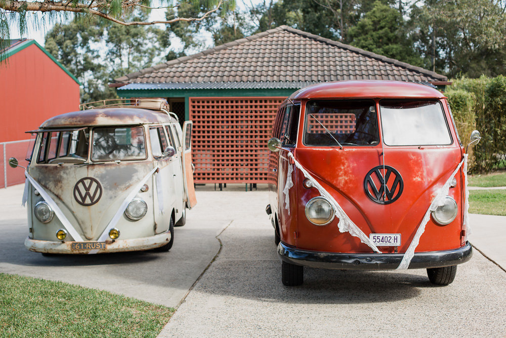 Vintage VW Camper Vans
