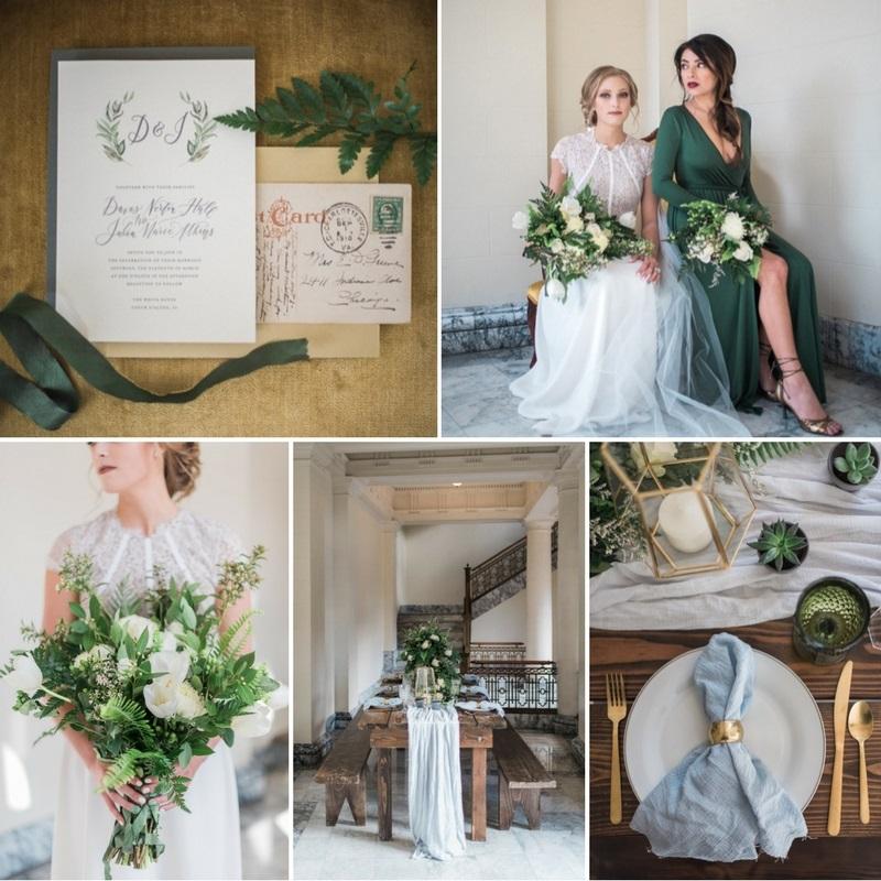 Timeless Greenery Wedding Inspiration