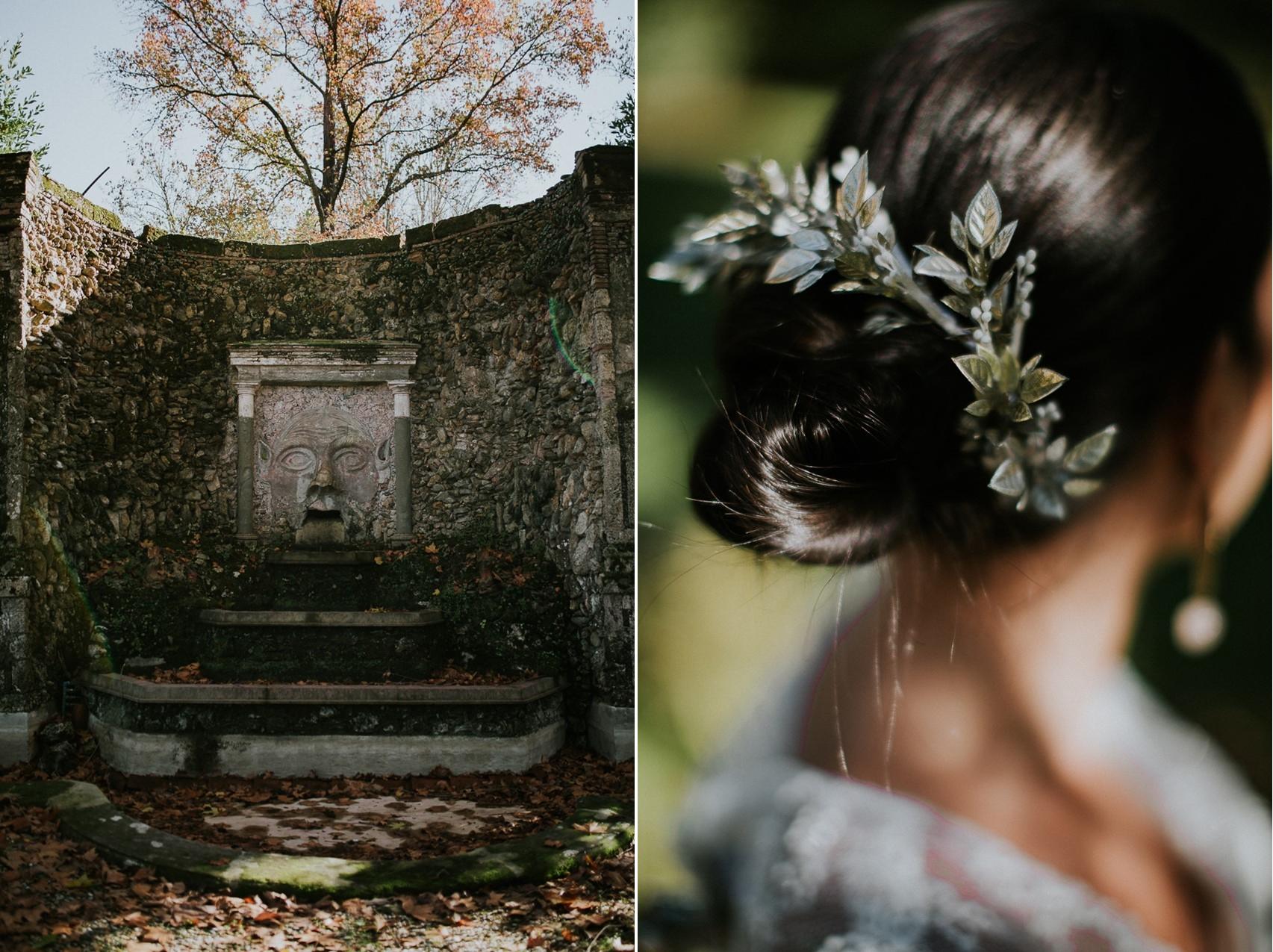 Tuscan Villa & Bridal Updo