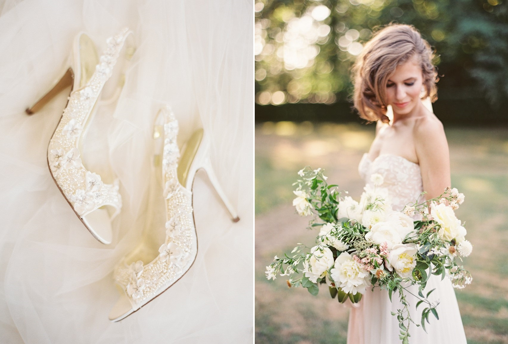 Modern Vintage Bridal Look