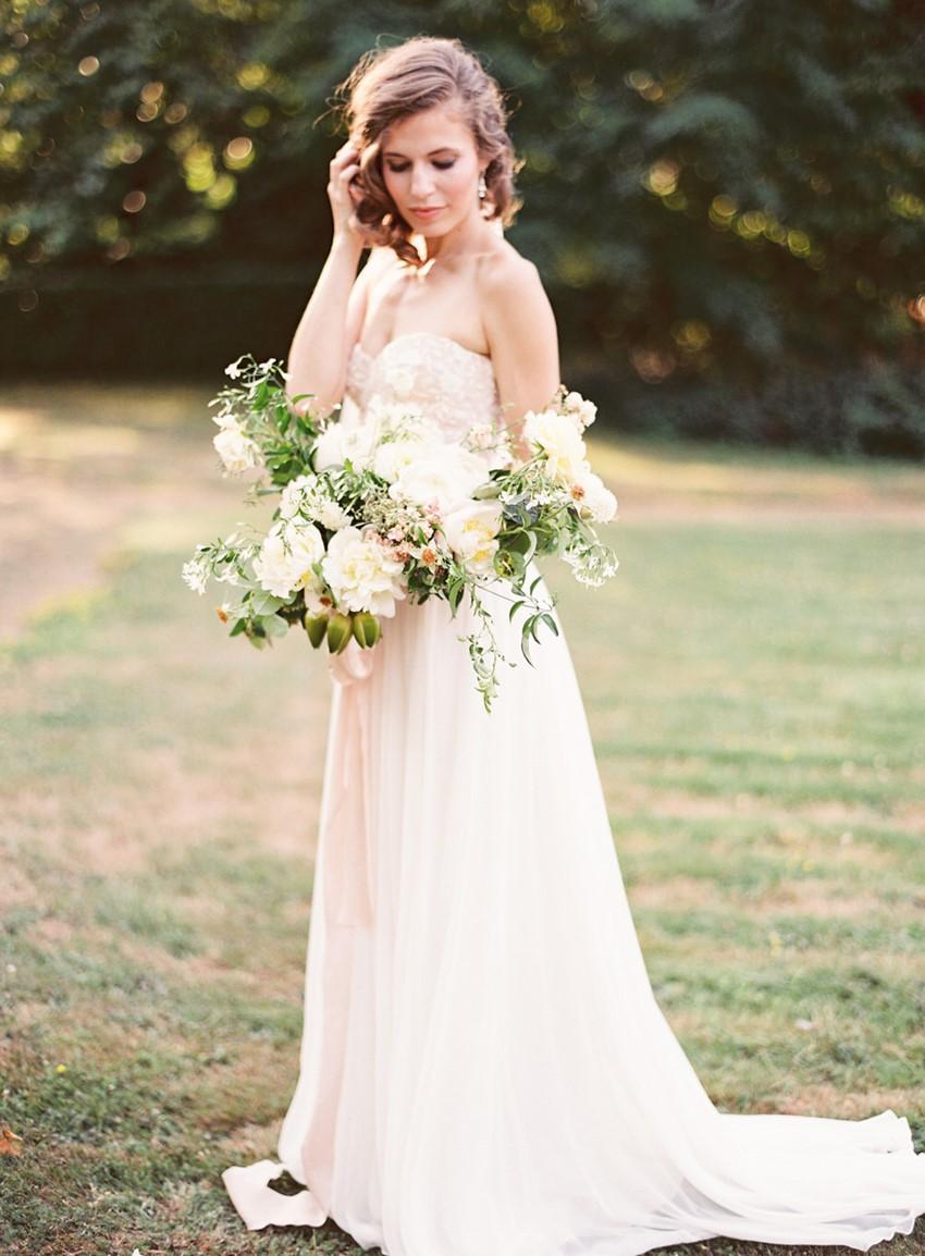 Romantic Ivory Bridal Bouquet