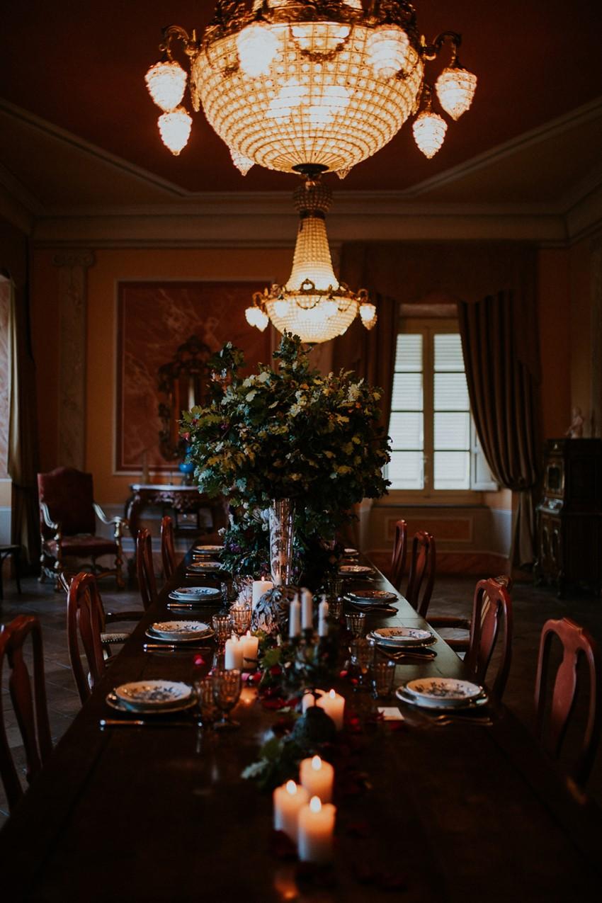 Lavish Vintage Wedding Tablescape