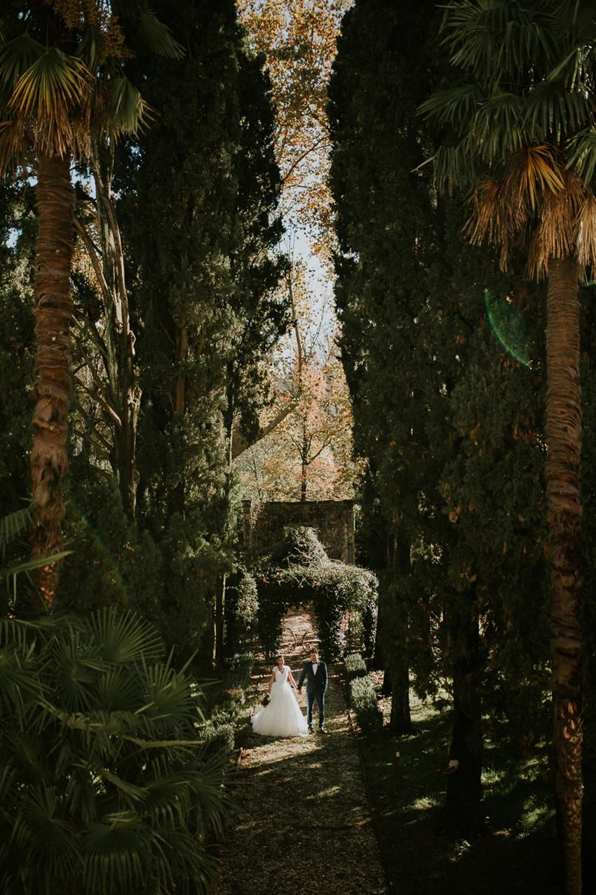 Tuscan Villa Garden Wedding