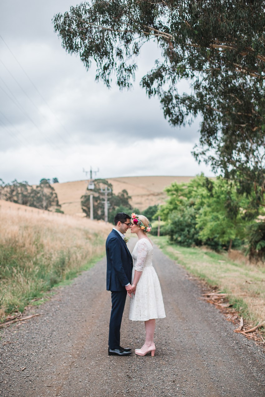 Retro Australian Wedding