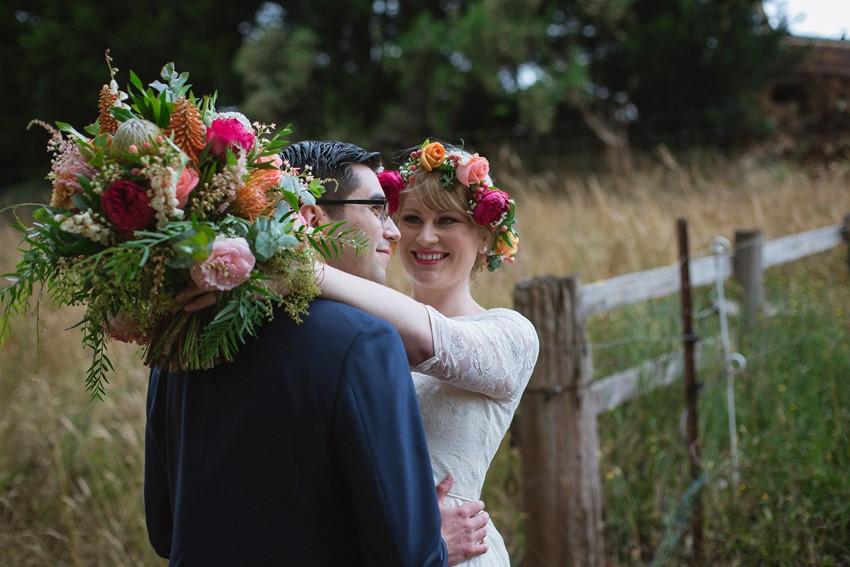 Romantic Australian Woodland Wedding