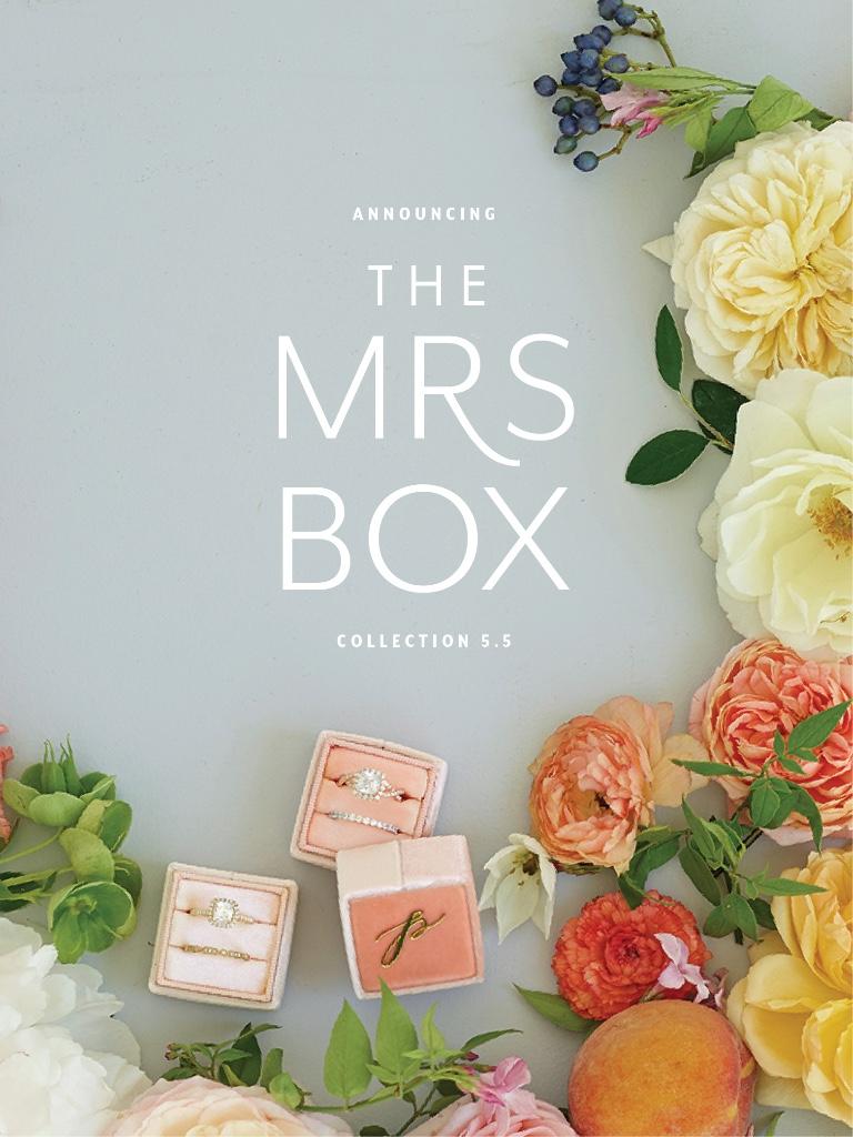 Vintage Velvet Ring Boxes from The Mrs Box