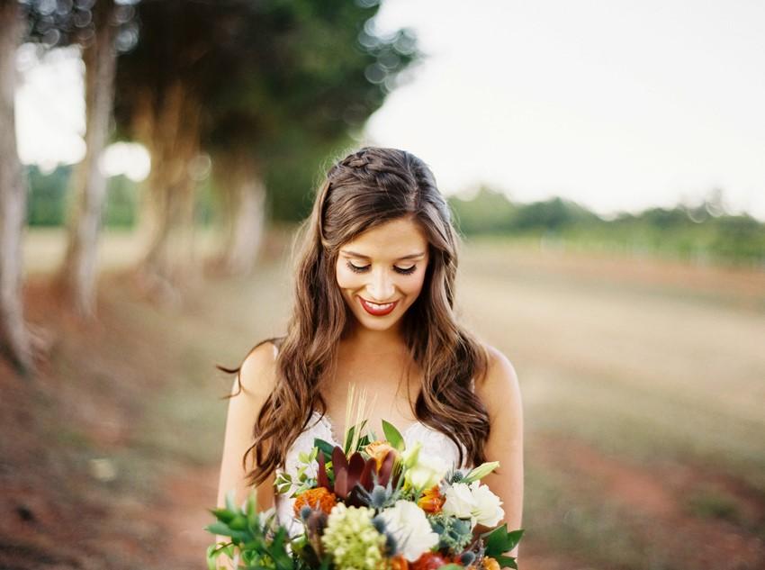 Long Braided Bridal Hair