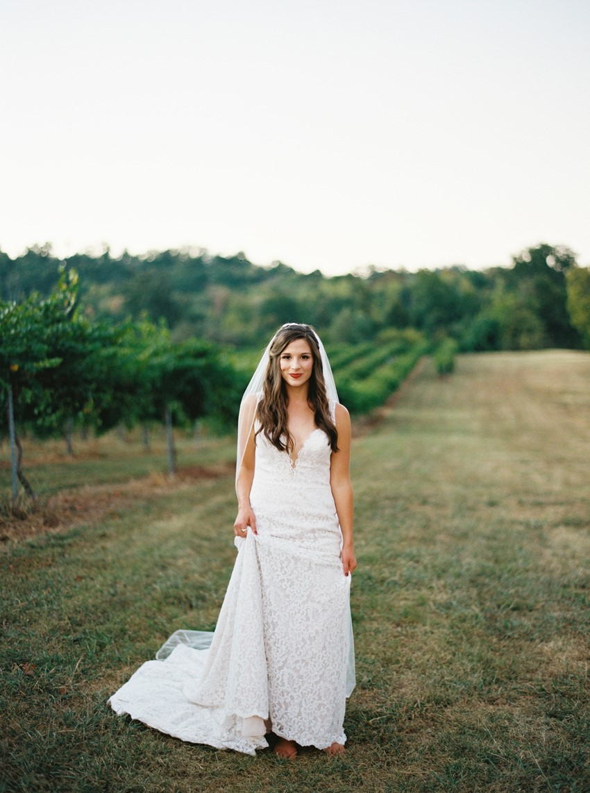 Romantic Vineyard Wedding Inspiration